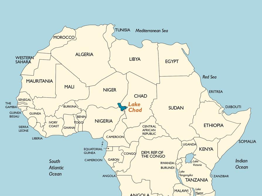 africa map dwg