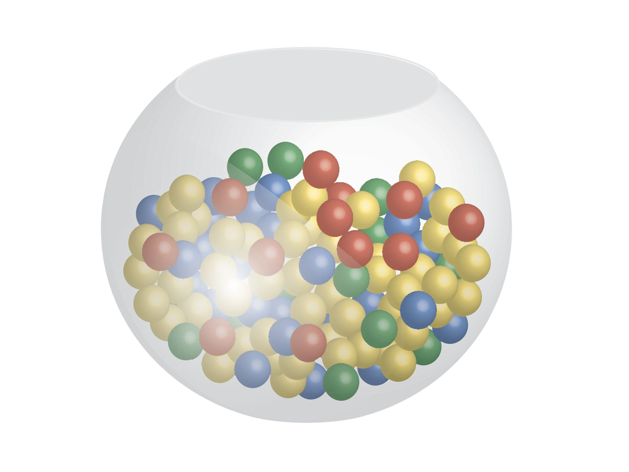 Colored Marbles For Probability Lesson : Marbles in a jar probability pixshark images