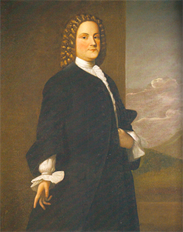 A portrait of Benjamin Franklin is shown.