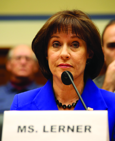 A photo of Lois Lerner.