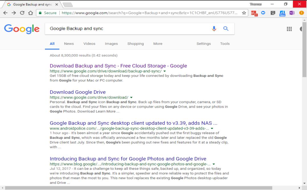 Google Sync Download