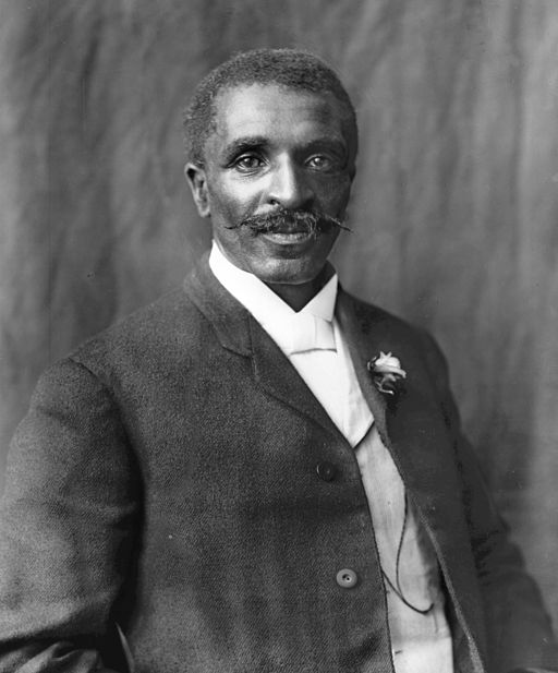 George Washington Carver  Frances Benjamin Johnston [Public domain], via Wikimedia Commons