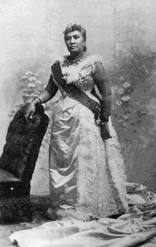 Queen Liliuokalani, [Public domain], via Wikimedia Commons.
