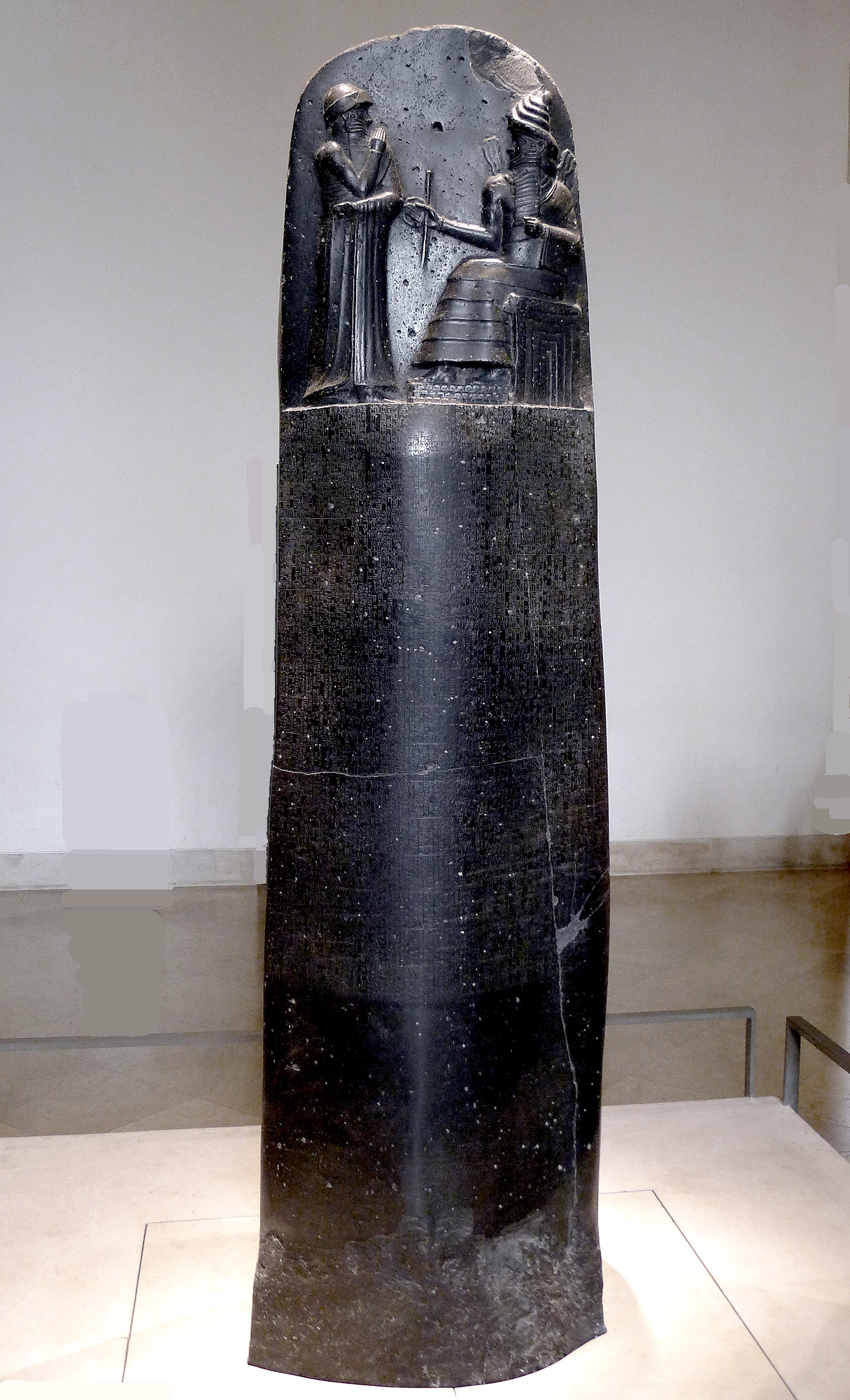 "The Stele of Hammurabi | Author: User ""Mbzt"" 