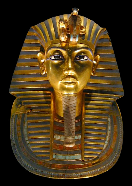 Golden Mask of Tutankhamun | Because his tomb was found mostly intact in 1922, King Tutankhamen (or King Tut) has become one of our most familiar images from dynastic Egypt. | Author: Carsten Frenzl | Source: Wikimedia Commons | License: CC BY 2.0
