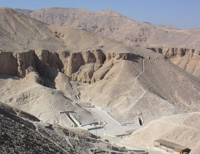 "Tombs at the Valley of the Kings | Author: User ""Hajor"" Source: Wikimedia Commons License: CC BY-SA 3.0"