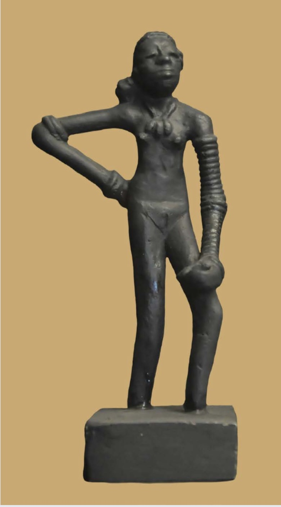 Dancing Girl of Mohenjo-daro | Author: Joe Ravi | Source: Wikimedia Commons | License: CC BY-SA 3.0
