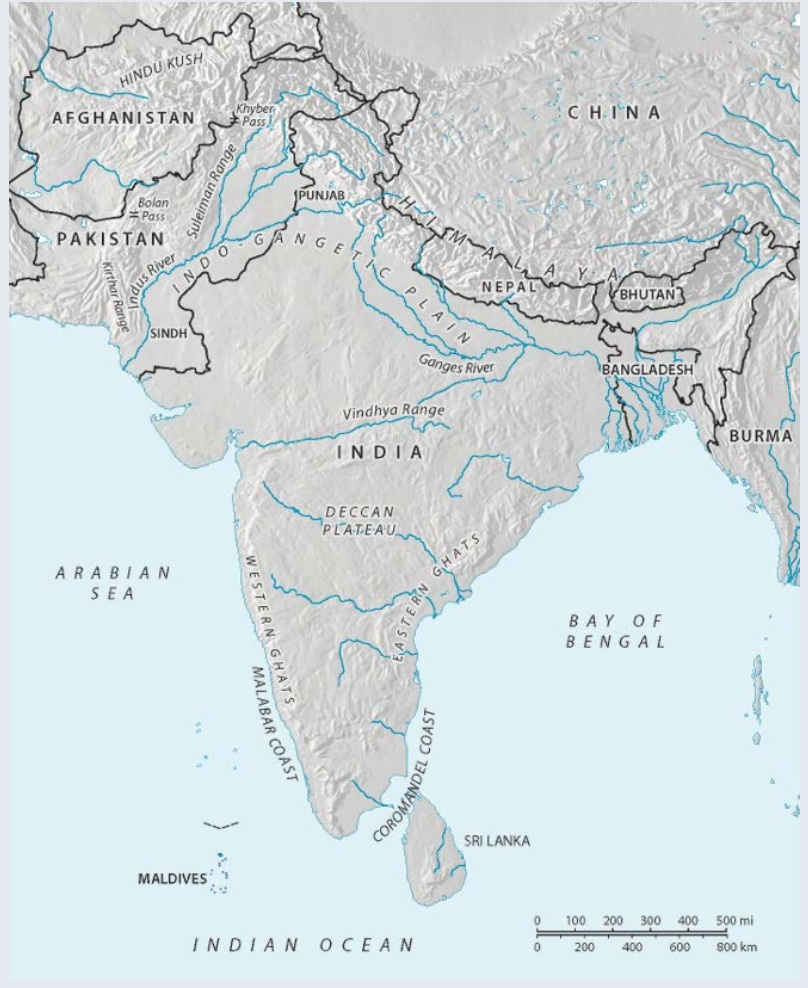 South Asia | Author: Larry Israel | Source: Original Work | License: CC BY-SA 4.0