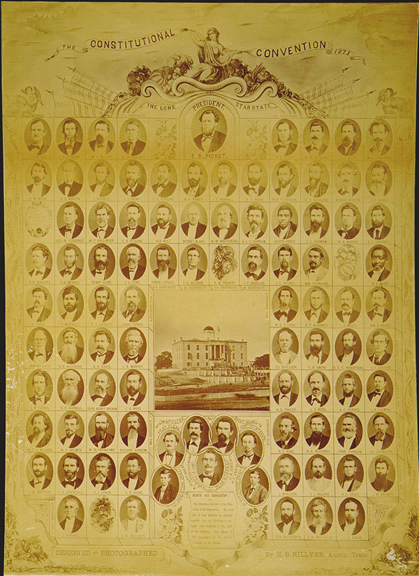 Delegates to the 1875 Texas Constitutional Convention