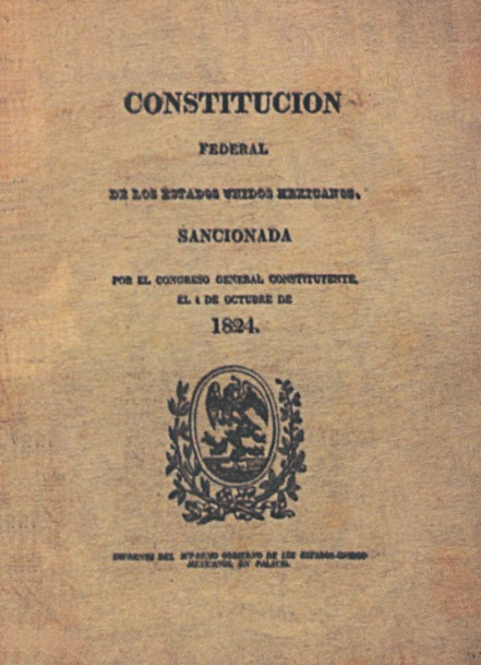 This section discussesthe Federal Constitution of the United Mexican States (1824)