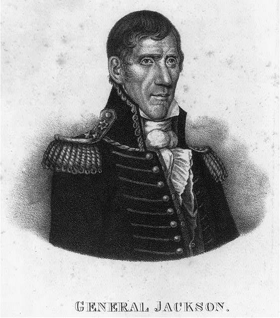 General Jackson. [Public Domain] Library of Congress