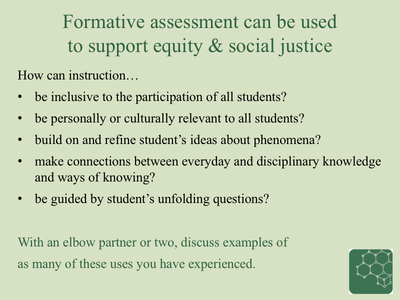 Acesse Resource A Introduction To Formative Assessment To Support