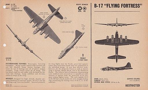 B17 Bomber assets