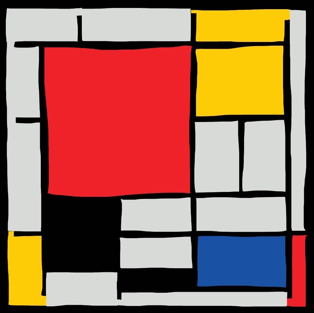 Example of Mondrian Art