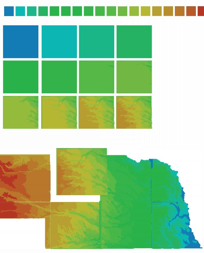 Nebraska's Topography 2