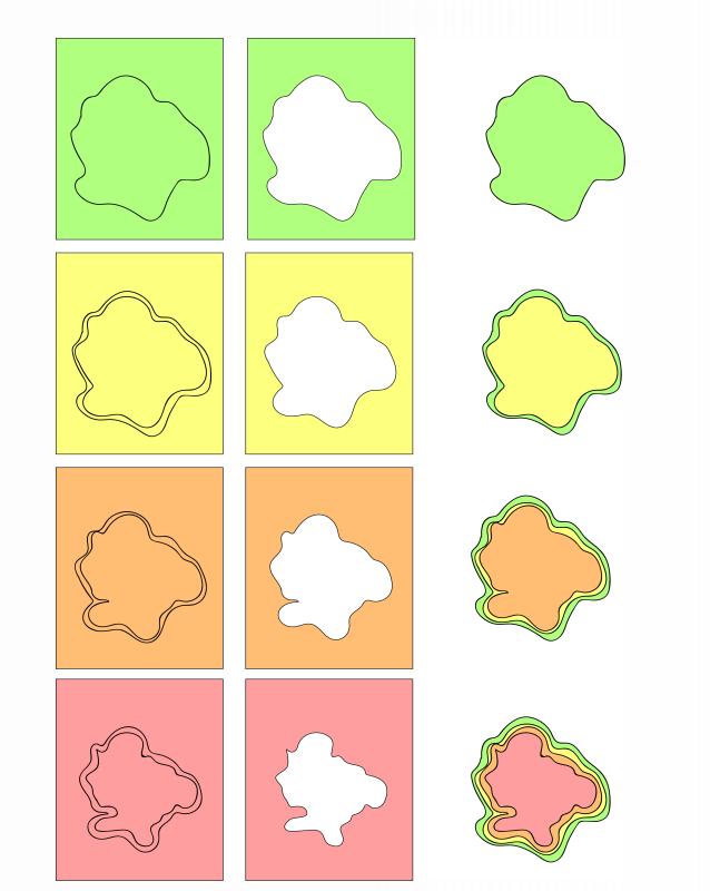 Decreasing Topography Examples