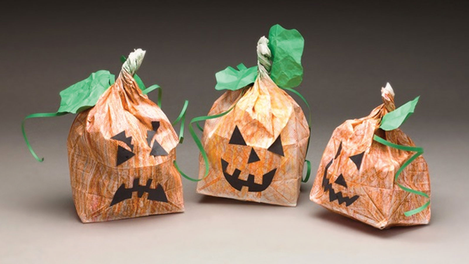 Paper Bag Pumpkin Patch