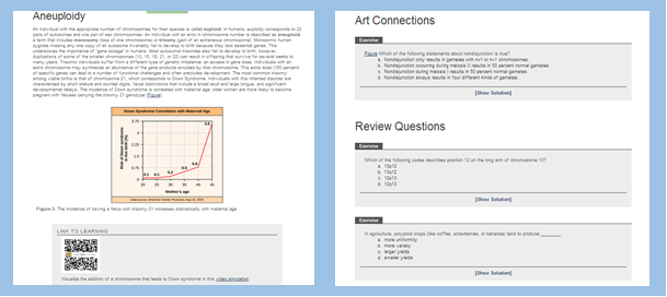 Digital textbooks allow users to aggregate text, images, video, and links to other content and assessment tools.