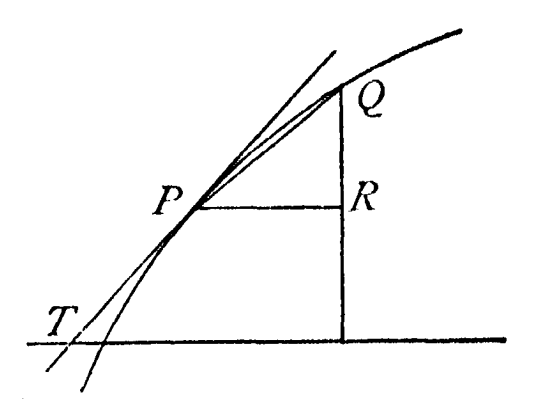 Barrow's differential triangle, History Of Mathematics Vol II (1925), p.690