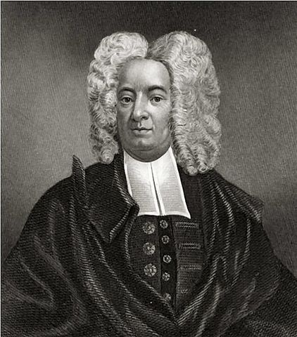Cotton Mather was one of the leading Puritan figures of the late 17th and early 18th centuries. His massive Ecclesiastical History of New England (1702) is an exhaustive chronicle of the settlement of New England and the Puritan effort to establish a kingdom of God in the wilderness of the New World. Portrait by Peter Pelham, Public Domain, via Wikimedia Commons