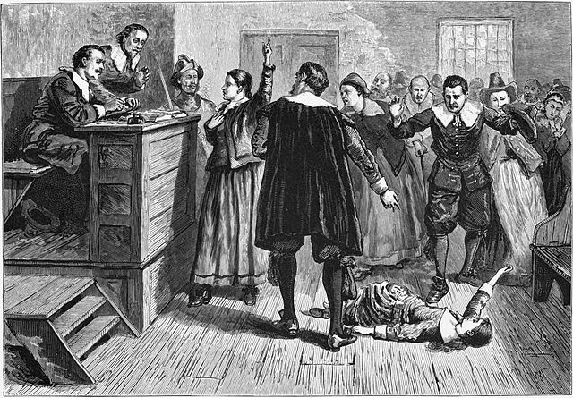 """""""Witchcraft at Salem Village"""" by William A. Crafts (1876) , Public Domain, via Wikimedia Commons"""