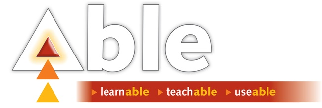ABLE training series. Engage in training anytime, anywhere.