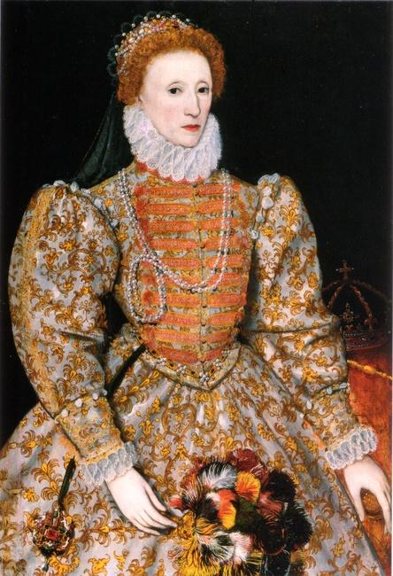 Queen Elizabeth I, [Public domain], via Wikimedia Commons
