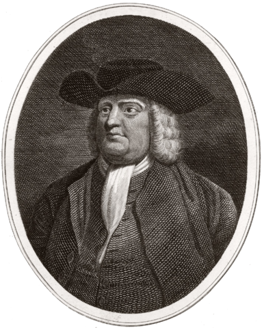 Portrait of William Penn, Public Domain, via Wikimedia Commons
