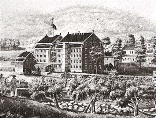 """Boston Manufacturing Company"" by Elijah Smith, Public Domain, via Wikimedia Commons"