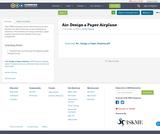 Air: Design a Paper Airplane