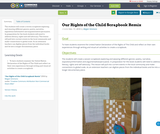 Our Rights of the Child Scrapbook Remix