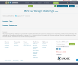 Mini Car Design Challenge