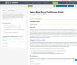 Learn Easy Steps: Facilitation Guide