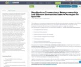 Handbook on Transnational Entrepreneurship and Effective Internationalisation Strategies for Spin Offs