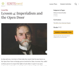 Lesson 4: Imperialism and the Open Door