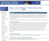 Ebay: Using Media to Teach Economics