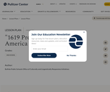 """1619 Project"": The Idea of America"