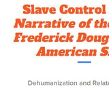 Slave Control in The Narrative of the Life of Frederick Douglass, An American Slave