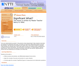 NTTI: Significant What?