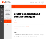 G-SRT Congruent and Similar Triangles