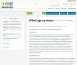 W200 Inquiry Project