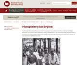 Reading Like a Historian: Montgomery Bus Boycott
