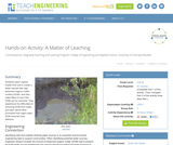 A Matter of Leaching
