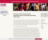 Character File of Autumn Helena Washington Hawn: Illuminating Standards Video Series