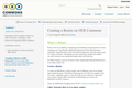 Creating a Remix on OER Commons