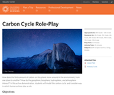 Carbon Cycle Role-Play