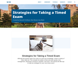 Strategies for Taking a Timed Exam