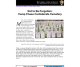 Not to Be Forgotten: Camp Chase Confederate Cemetery