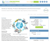 Product Development and the Environment