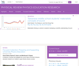 Physical Review Physics Education Research